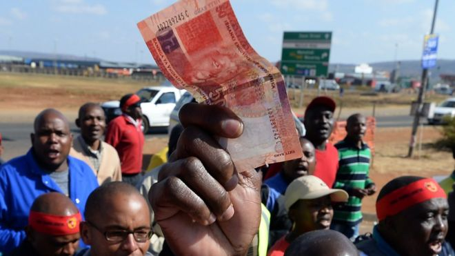 south africa s economy in crisis bbc news