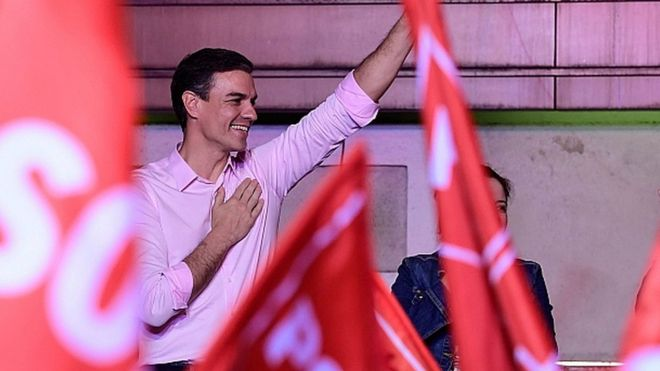 Election Wont End This Overnight But >> Spain Election Socialists Win Amid Far Right Breakthrough Bbc News