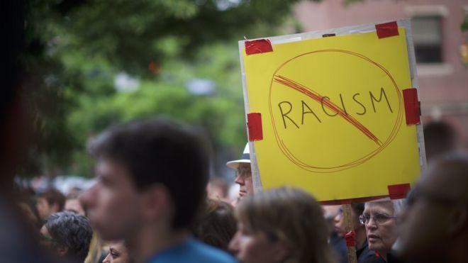 Protesto contra racismo nos EUA
