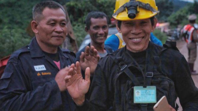 Image result for Rescatan a todos los menores y su entrenador en Tailandia