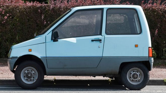 37cd5bc954 The little car you can drive in France without a licence - BBC News