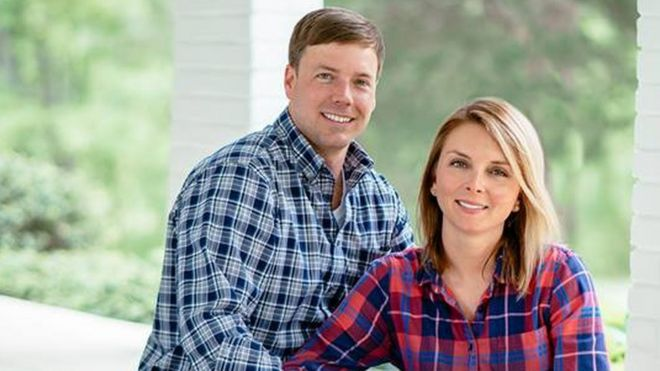 Robert Foster and his wife Heather