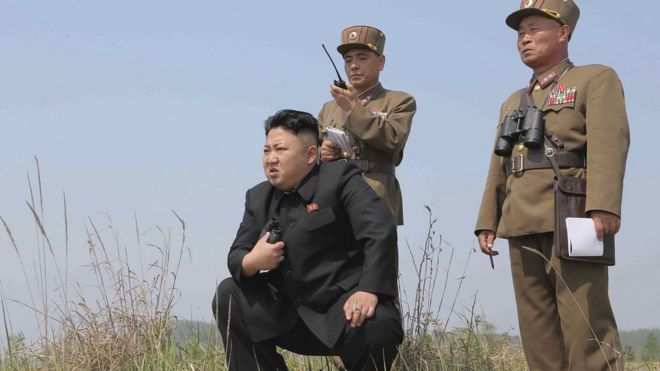 Image result for north korean leader military picture