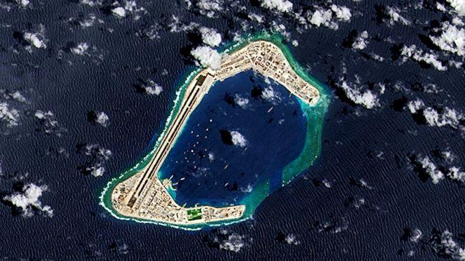 آمریکا بهرهبرداری پکن از جزایر مورد مناقشه در دریای جنوبی چین را غیرقانونی خواند