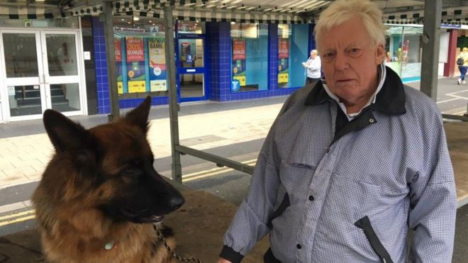 Veteran trader banned from Newcastle-under-Lyme market - BBC