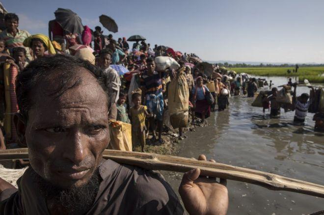لاجئون من أقلية الروهينغيا