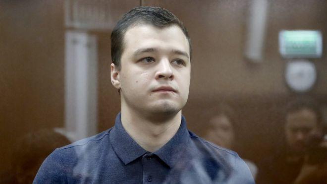 """""""Московское дело"""": Никита Чирцов приговорен к году колонии. Он толкнул полицейского"""
