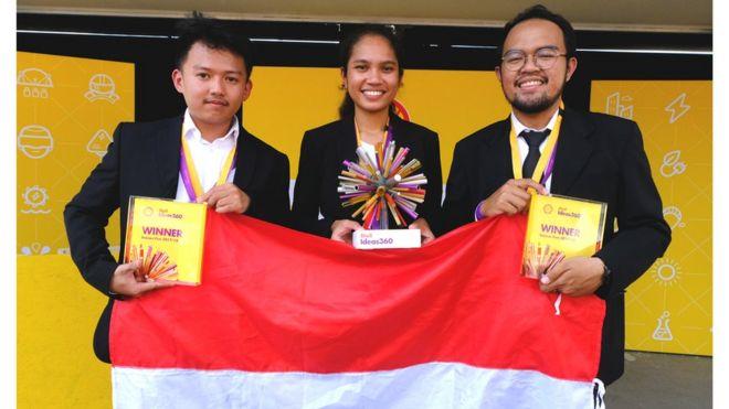 Tim dari UGM memenangkan lomba inovasi teknologi tingkat dunia, mengalahkan peserta dari 140 negara | Foto: BBC Indonesia