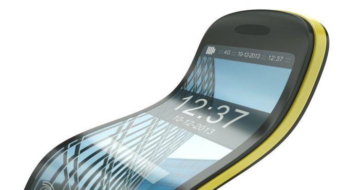 celular flexível