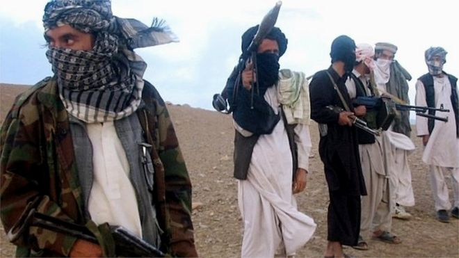 Taliban militants in Afghanistan. File photo