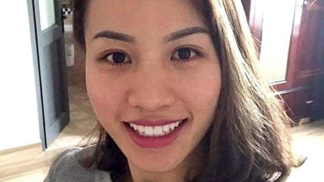 Nguyễn Ngọc Quyên sống ở Anh từ 2010.