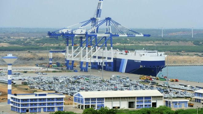 Sri Lanka signs deal on Hambantota port with China