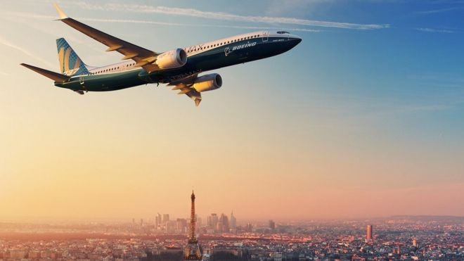 Boeing launches new version of 737 jet - BBC News