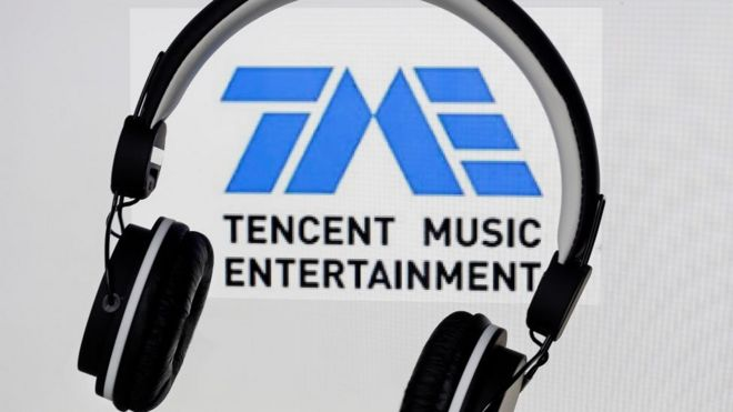 China's Tencent Music applies to list in the US - BBC News
