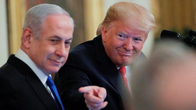 Премьер-министр Израиля и президент США