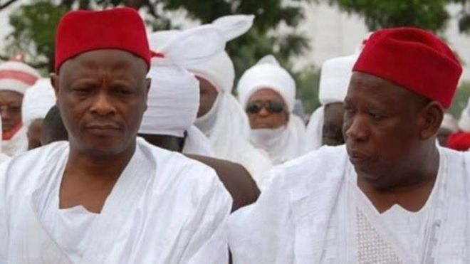 Image result for kwankwaso, ganduje