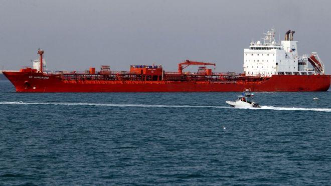 美国早前促请联合国将十艘货轮列入黑名单