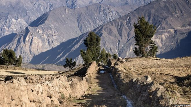 Inca Road: The ancient highway that created an empire - BBC News on mali empire trade route map, triangular trade route map, anasazi trade route map, roman trade route map, mongol trade route map, olmec trade route map, north american trade route map, byzantine trade route map, huron trade route map, silk road trade route map, greek trade route map, iroquois trade route map, egypt trade route map, incense trade route map, ghana trade route map, egyptian trade route map, south american trade route map, mesoamerican trade route on map, india trade route map, african trade route map,