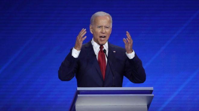 جو بایدن داوطلب نامزدی حزب دموکرات در انتخابات آمریکا