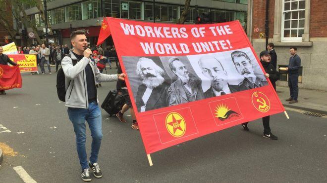 Первомай в Лондоне и Европе: шествия, беспорядки, языческий шабаш