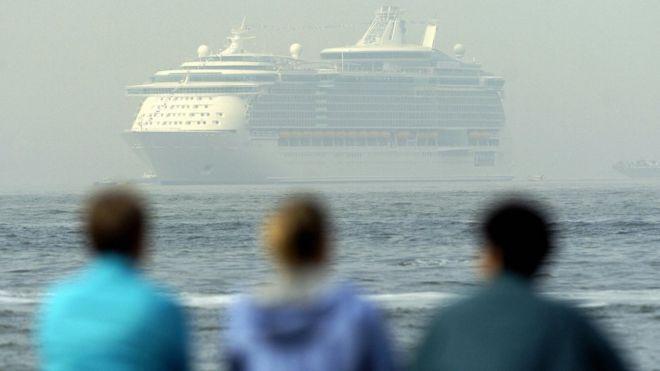 """Aile, """"Freedom of Seas"""" adlı geminin işletmecisi Royal Caribbean International şirketine dava açacak."""
