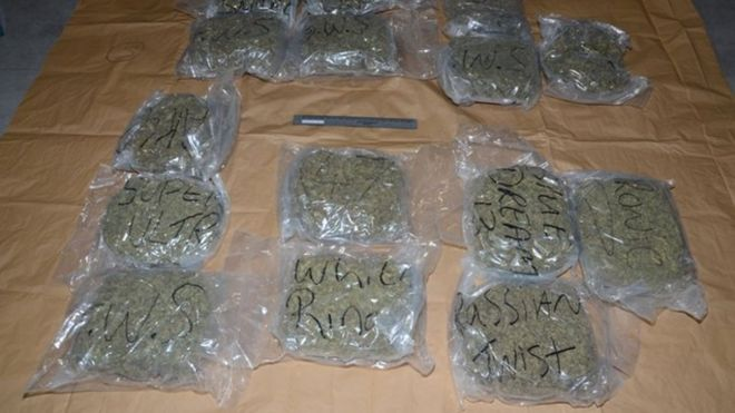 Cross-border drug gang jailed - BBC News