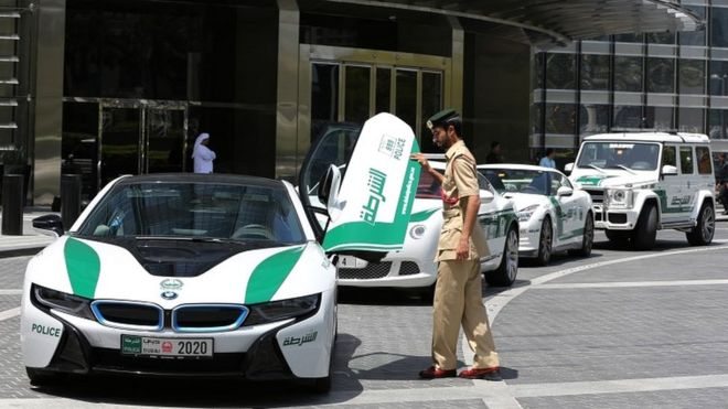 Dubai Police Crack Down On Speed Seekers By Seizing 81 Cars Bbc News