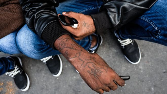 The Tattoos Eritreans Get Before They Leave For Europe Bbc