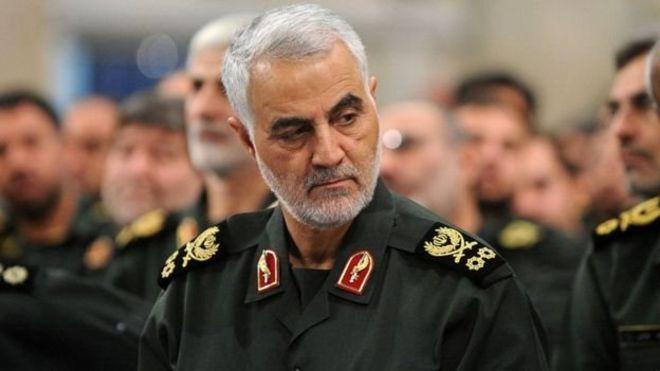 قاسم سلیمانی، فرمانده سپاه قدس سپاه پاسداران