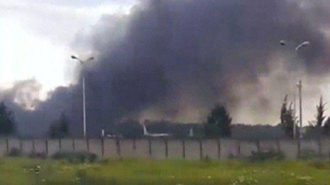 अल्जीरियाः सेना का  प्लेन क्रैश,105 लोगों की मौत