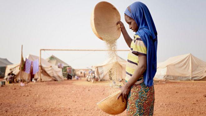 Niña en Mali.