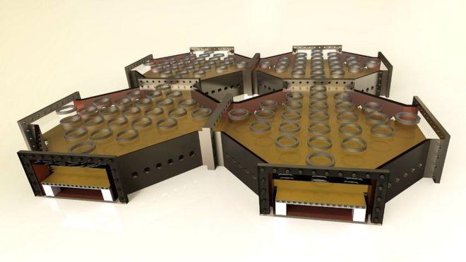 El plano de una computadora cuántica basado en un proyecto modular