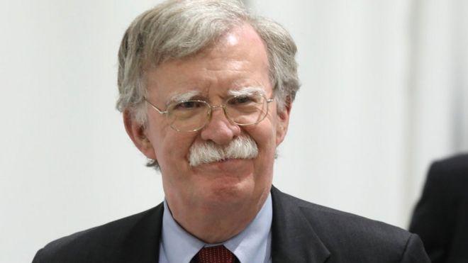 Cố vấn an ninh quốc gia của Tổng thống Trump John Bolton