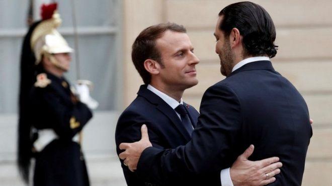 Mr Macron iyo Mr Xarir