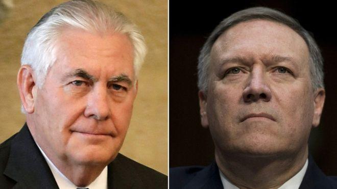 Трамп уволил Тиллерсона и назначил госсекретарем директора ЦРУ