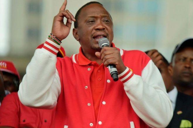 Uhuru Kenyatta madaxweynaha Kenya