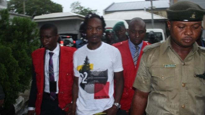 Naira Marley dey go stay for prison afta e appear for court