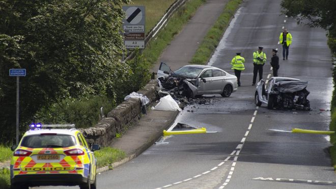 Articlave crash: Man killed in two-car collision named - BBC News