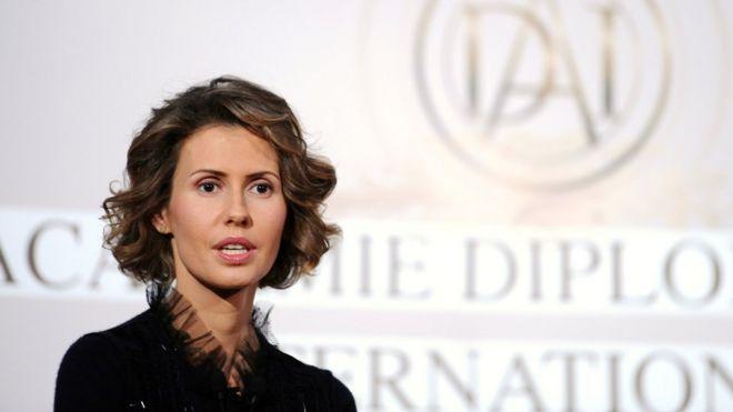 أسماء الأسد تخضع للعلاج سرطان