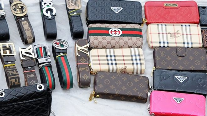 205e368d What's wrong with buying fake luxury goods? - BBC News