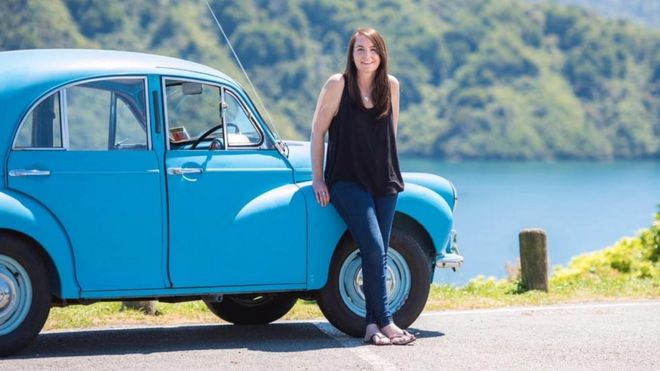 Morris Minor Aberdeen To Cape Town Trip In Father S Memory Bbc News