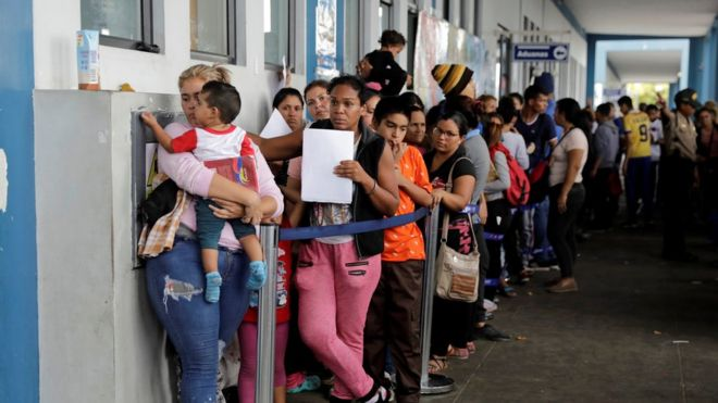 Image result for venezuelan migration crisis