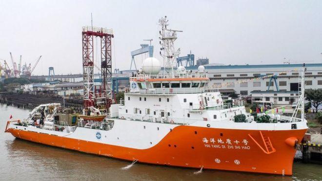 Một tàu thăm dò Hải dương Địa chất của Trung Quốc