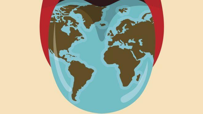 La lengua geográfica, el extraño mapa que puede aparecer en nuestra boca y nadie sabe por qué ni cómo tratarlo _98765060_lenguamapa