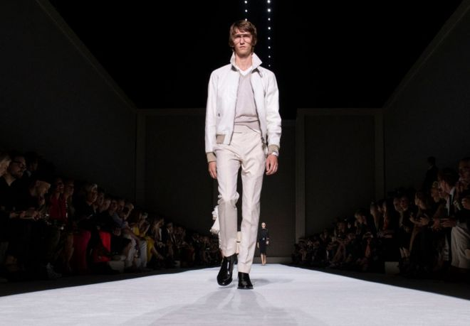 2c61061378f In Pictures  Tom Ford kicks off New York Fashion Week - BBC News