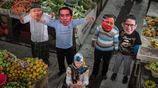 Istilah emak emak dan ibu bangsa Cara Jokowi dan Prabowo