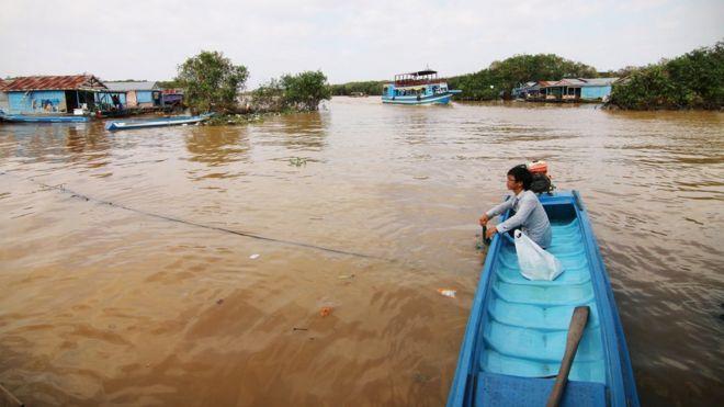 Vùng Biển Hồ ở Siem Reap hiện có 500 hộ người gốc Việt sinh sống