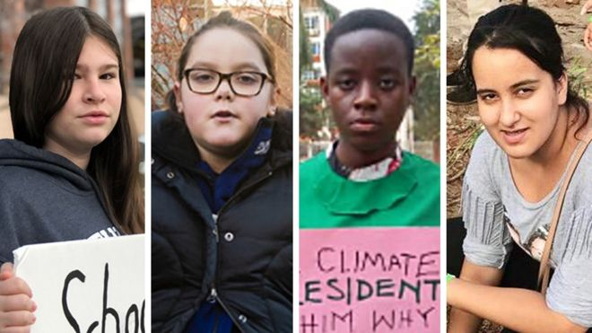 The Greta effect? Meet the schoolgirl climate warriors
