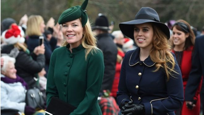 Autumn Phillips and Princess Beatrice