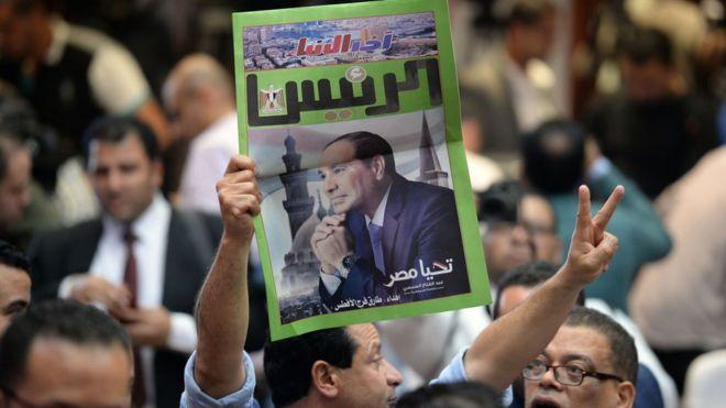 السيسي يبدأ فترة رئاسة الثانية في شهر يونيو/حزيران المقبل.